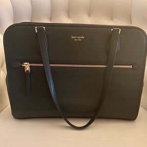 Kate Spade Polly Work Tote- Deep Evergreen